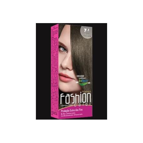 Coloração Yamá Fashion 7.1 Louro Acizentado 60g