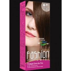 Coloração Yamá Fashion 6.41Louro Escuro Cobre Cinza 60g
