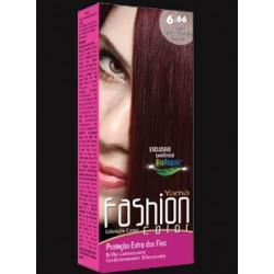 Coloração Yamá Fashion  6.66 Louro Escuro Vermelho Intenso 60g