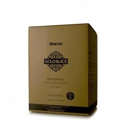 Kit Relaxamento Guanidina Gold Black 5 Aplicações / 10 Retoques - Amend