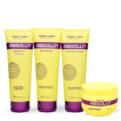 Kit Manutençao Profissional Absolut - Treat Hair