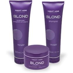 Kit Manutençao Profissional Blond  - Treat Hair