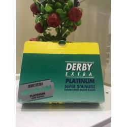 Cartela Lamina Barbear Platinum Extra - Derby