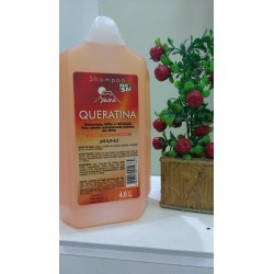 Galao Shampoo Queratina 4,6L - Yama