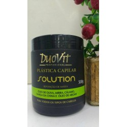 Mascara Solution PlAstica Capilar 500g - Duovit