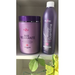 Kit Relaxamento Guanidina Base + Ativador - Mairibel