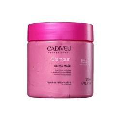 Cadiveu Professional Glamour Rubi Glossy - Máscara Capilar 500ml
