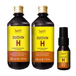 Kit Duovin Shampoo+Mascara e Complexo Vitaminico